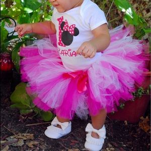 Other - Hot pink and white tutu